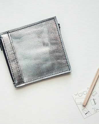 transparent, Portfel - Pocket MINI / Silver