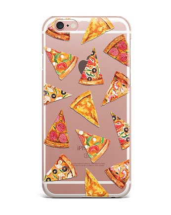iphone 7 case, PIZZA iPhone case Etui Silkonowe