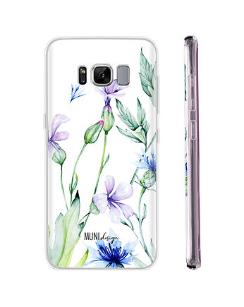 Etui na telefon Watercolor Flowers, Galaxy S8