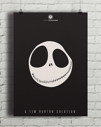 Tim Burton - Nightmare Before Christmas - plakat