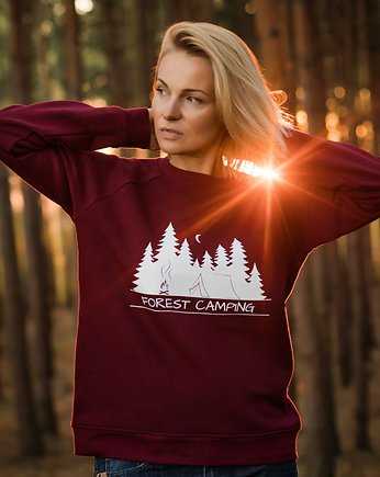 Forest People, Bluza unisex FOREST CAMPING