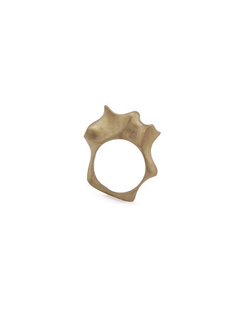 WAVES maxi / BRASS ring, ONA