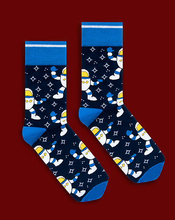 """Spaceman"" - kolorowe skarpety BANANA SOCKS"