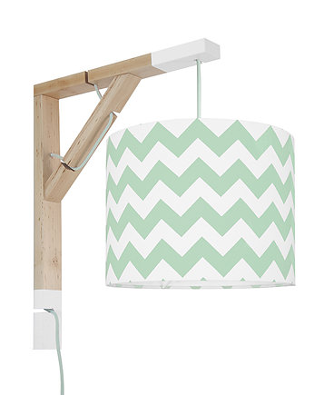 youngDECO, Lampa Simple Chevron miętowy