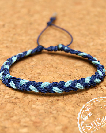 SHEandHE, Big  Braid - NAVY BLUE, L BLUE