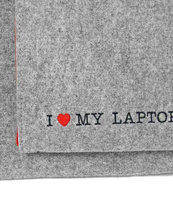 POKROWIEC NA LAPTOPA I love my laptop etui