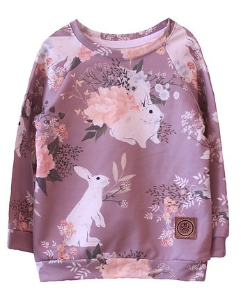 Bluza Rabbit old rose