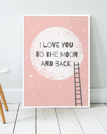 dzieci, I love you to the moon and back II