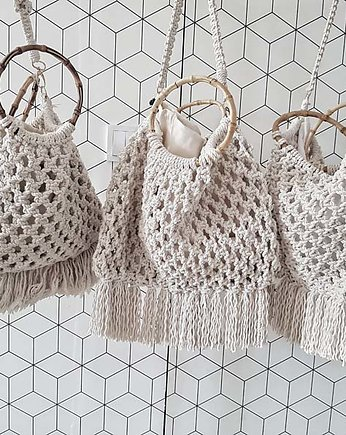 Be_Macrame, Torba typu SHOPPER