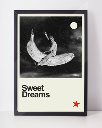 plakat  sweet dreams  a3