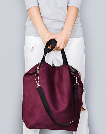 Torba gigant, torba Simple burgund