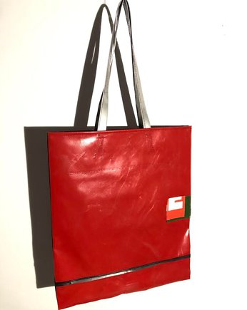 95% Upcycled Materials, Torba na zakupy Shopper Tikaiparlabu