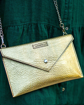 Double Sided Clutch Gold