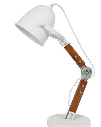 HOME DESIGN :: DESK LAMP 39X20X64 CM CLYDE WHITE