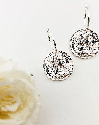 Kolczyki z monetami, coin earrings