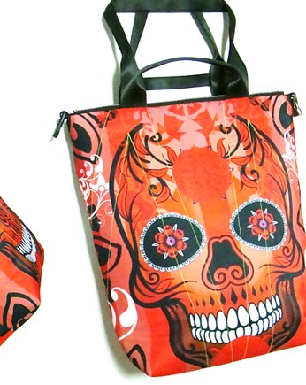 1325 art MIMA bag UNI & Marcin Painta print