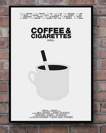 minimalmill, Coffee and Cigarettes - plakat