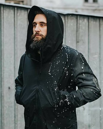 The Urban Beard, Parka All Black