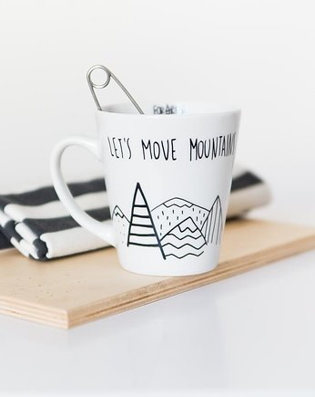 FOR REST, let's move mountains | kubek 400 ml