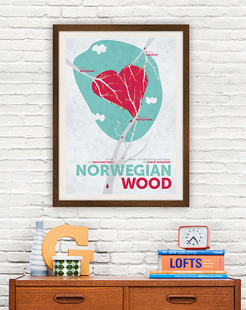 kino, Norwegian Wood - plakat