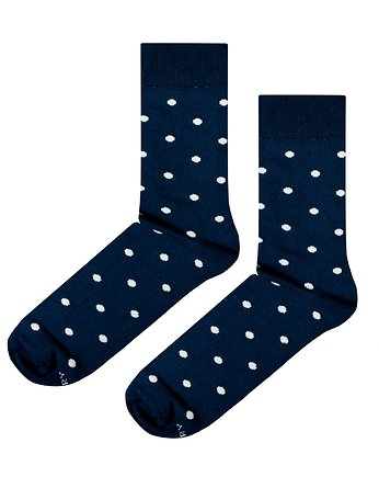 Skarpetki Navy Blue Dots