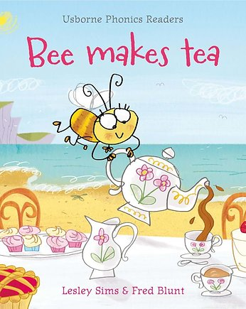 nauka czytania, Bee makes tea