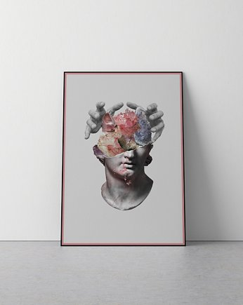 face, PLAKAT | STONE | PINK | A3