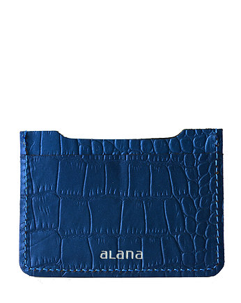 Alana Leather Studio, Skórzane etui na karty Galactic Blue