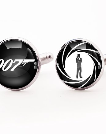 super bohater, James Bond - spinki do mankietów - 0246