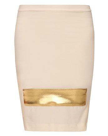 Spódnica złota YY600124_RAL1021