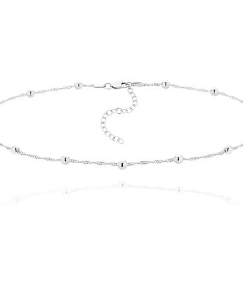 Choker SIMPLE Silver Ball