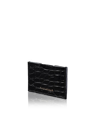 Cardholder Black Crocodille