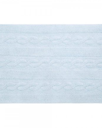 Dywan Trenzas Soft Blue Small Lorena Canals