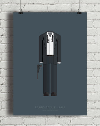 minimalmill, James Bond - Casino Royale - plakat