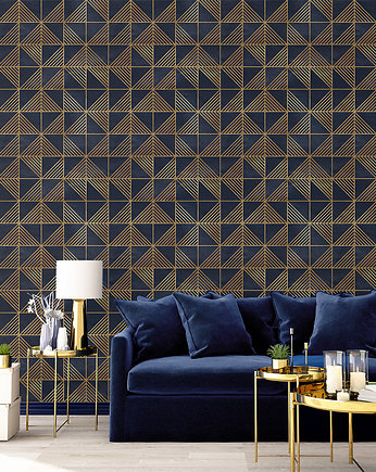 Motif, Tapeta Gold Triangles