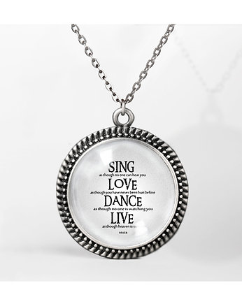 Sing Love Dance Live -  medalion silver