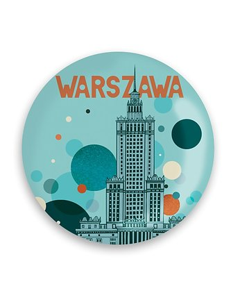 LOVE POLAND DESIGN, MAGNES 56 mm - PAŁAC BĄBELKI