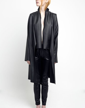 nowoczesne futro, MOONLIGHT JACKET LONG [faux leather silky touch]