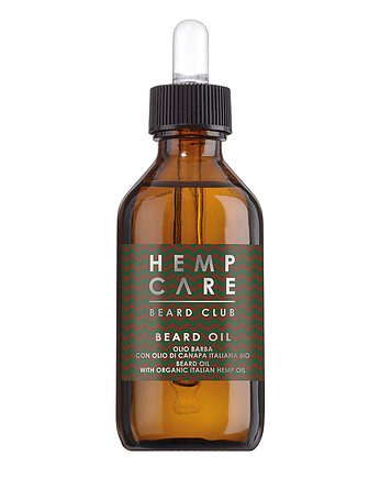 Beauty Queens & Kings, Olej do brody Hemp Care Beard Club 50 ml