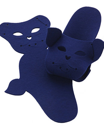 BOOGIE design, PUPPETS CAT chabrowy
