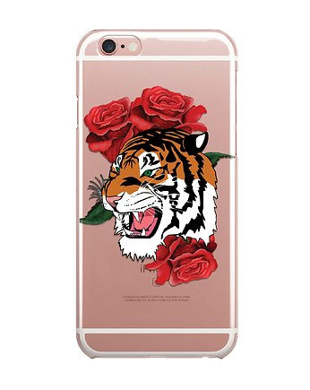 iphone 7 case, TYGRYS iPhone case ETUI SILIKONOWE obudowa Tiger