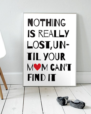 Nothing is really lost...  plakat B2
