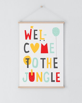 backtoschool, Welcome to the jungle | plakat A3