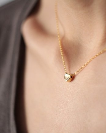 ponadczasowy, Gold Plated Small Heart Necklace