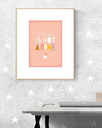 decoration, #sweet #home #1 PLAKAT A4