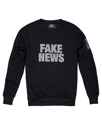 Harp Team, Bluza Męska Crewneck Fake News