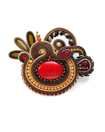 Autumn Garden- broszka soutache