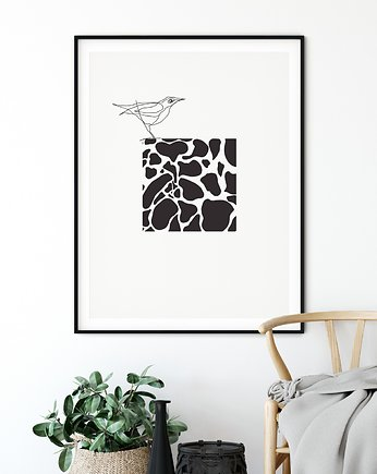 Plakat skandynawski Modern abstract no. 6