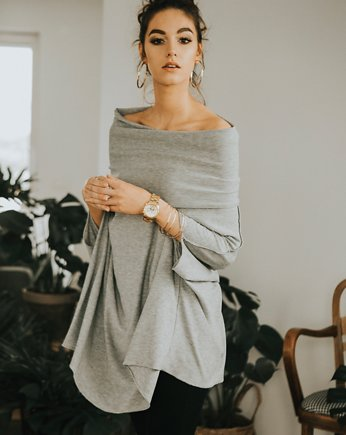 Quiet Gray, Tunika oversize Zingara grey