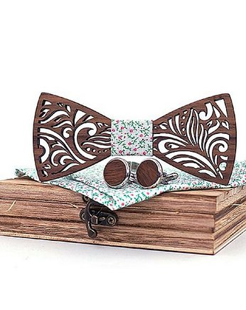 c1c34688e446e1 ... mucha drewniana allegro, Mucha męska drewniana , prezent spinki zestaw